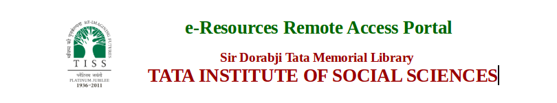 Tata Institute of Social Sciences(TISS) Logo