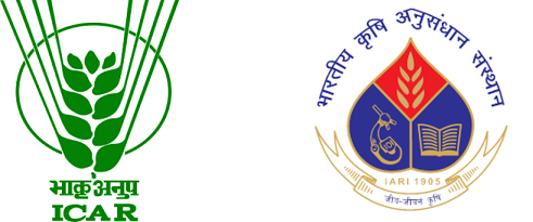 ICAR-INDIAN AGRICULTURAL RESEARCH INSTITUTE, NEW DELHI Logo